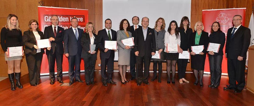 2012'nin En Başarılı Gönüllüleri Viko, Fiba Grubu ve Ford Otomotiv