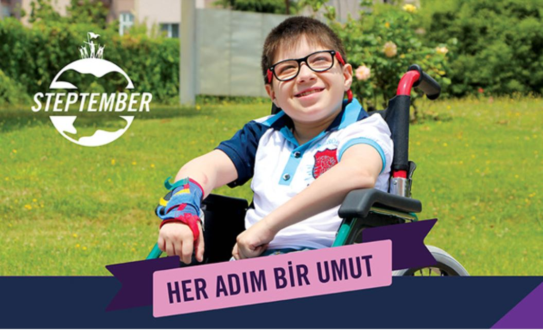 Steptember / Türkiye Spastik Çocuklara Umut Vakfı