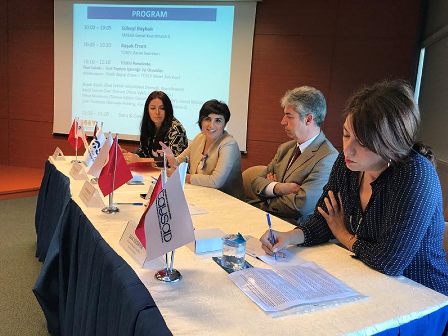 Taşıt Araçları Yan Sanayicileri Derneği (TAYSAD) – Özel Sektör Sanayi İşbirliği Paneli