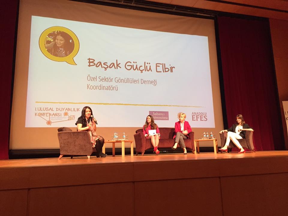 Sabancı Üniversitesi – Ulusal Duyarlılık Konferansı
